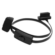 Cable To 16Pin OBD2 Connector OBD 2 16Pin Female Connector OBD II With Switch