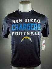 San Diego Chargers Official NFL Apparel Kids Youth Size Athletic Shirt New Tags