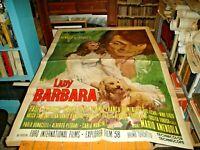 Lady Barbara Manifesto 2F Original 1970 Renato Of Prophets