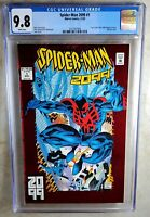 Spider-man 2099 #1 Marvel 1992 Origin Red Foil Cover CGC 9.8 NM/MT Comic P0006