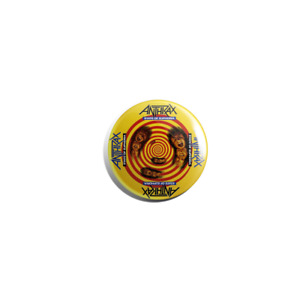 Anthrax State Of Euphoria 38mm pin badge button