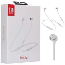 Beats by Dr. Dre - BeatsX Earphones Wireless Headset Matte Silver MTH62LL/A LN
