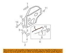 KIA OEM 03-09 Sorento Lock Hardware-Rear Door-Lock Rod Right 814723E000