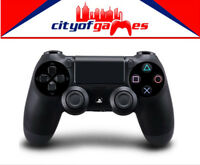 Genuine PS4 DualShock 4 Black Wireless Controller Brand New