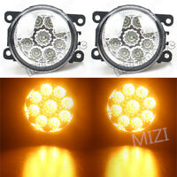 Left Right LED Fog Light Lamps For Ford Falcon FG 2008-2014 XT XR6 XR8 G6E Amber