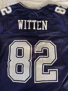 NFL Reebok Classic Dallas Cowboys Jersey Jason Witten #82 - Youth Large New
