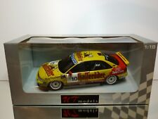UT MODELS 39971 AUDI A4 STW 1999 #10 CHRISTIAN ABT 1:18 RARE - EXCELLENT IN BOX