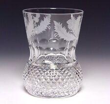 1x Edimburgo Cristal Cardo Antigua Whisky Vaso de 4 pulgadas De Primera Calidad