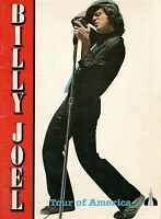 BILLY JOEL 1980 GLASS HOUSES U.S. TOUR CONCERT PROGRAM BOOK