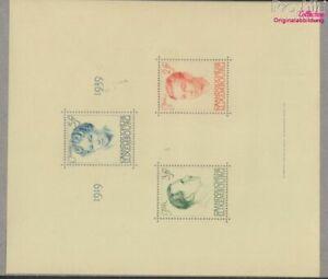 Luxemburgo Bloque 3 (completa edición) nuevo con goma original 1939 J (9624712