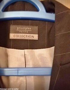 Ladies Principles Petite Suit Jacket Size 14 Trousers Size 16