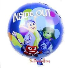 "Inside Out 18"" Foil Balloon Helium Party Birthday Pixar  Disney"