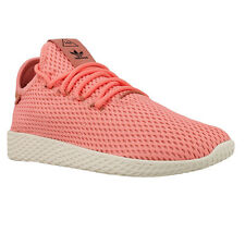 Adidas Tennis  x PW Hu Pharrell Williams Men Casual Shoes Rose Pink BY8715 Rare