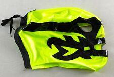 Dos Caras Yellow Kids Lucha Libre Pro Wrestling Mask Wrestler WWE Costume