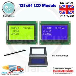 128x64 Écran LCD Module 12864B ST7920 3.3V 5V pour Arduino Raspberry Pi