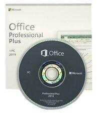 Office 2019 Professional Plus 32/64 bit.