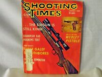 Shooting Times January 1969 - End of an Era: Webley Pistols