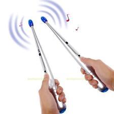 2x Elektrische e-Drumsticks elektronische Air Rhythm Sticks Kinder Lernspielzeug
