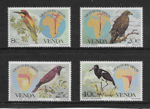 1983 Venda (S/A ) - Migratory Birds - Full Set of Four - Mint and Never Hinged.