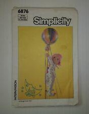 """Simplicity 6876 Lollypop Moon Baby 16"""""""