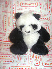 "WEBKINZ PANDA HM111 by GANZ  PLUSH STUFFED BLACK WHITE ANIMAL  8"" NO CODE CUTE"