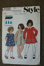 Style Sewing Pattern Girl's Dress Size Girl's 5