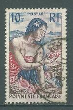 timbres oblitérés Polynésie YT 9