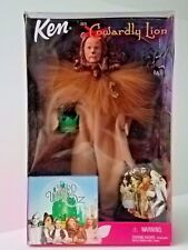 Barbie's Ken as the Wizard of Oz Cowardly Lion