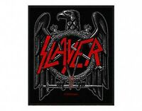 SLAYER black eagle WOVEN SEW ON PATCH official merchandise