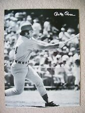1974 All Pro Graphics Poster Pete Rose Cincinnati Reds 19x25 RARE***