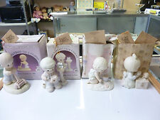 Precious Moments Figurines Lot of 4  - All Are Members Only Figurines