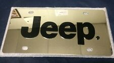 JEEP 3D Stainless Steel License Plate