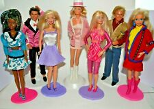 Bundle Of Vintage Barbie and Ken Dolls From The 1980's 1990's