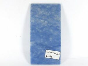 Lapis lazuli Chile Polished Slice (EA5398) mineral crystal reiki Cutting blue