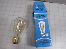 Lite-Tron F11205 ST48 Med Base Light Bulb 120V 40W 200H NEW