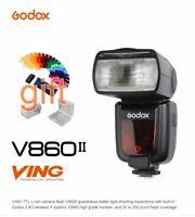 NEW Godox Ving V860II-N TTL Flash Speedlite HSS 1/8000s Li-ion Battery for Nikon