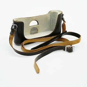 Original Leica M3 Half Case (Bottom, Brown Leather)