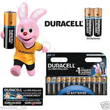 Duracell AA Batteries Ultra Power MX1500 LR6 MIGNON Size Alkaline - 12 Pack NEW