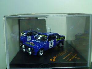 1/43 VITESSE FORD ESCORT RS1800 RALLYE 1980