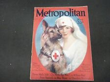 1918 MAY METROPOLITAN MAGAZINE - GREAT COVER & ADS - ST 905