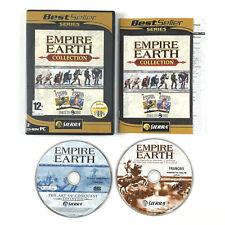 Juego Empire Earth Colección Para PC (con the art of conquest expansión gold)