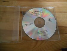 CD Indie Jens Lekman - I Know What Love Isn't (1 Song) Promo SECRETLY C cd only