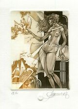 erotic exlibris Pauwels Hedwig for H.L. Pauwels-Gielkens