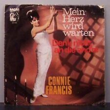 """(o) Connie Francis - Mein Herz Wird Warten (7"""" Single)"""