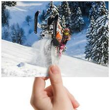 "Snow Mobile Stunt Riding - Small Photograph 6"" x 4"" Art Print Photo Gift #16051"