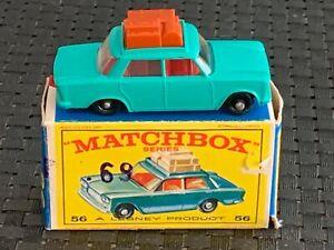 Matchbox (Lesney) Reg. Wheels #56 FIAT 1500 NEW w/Orig. Box 1965-1968