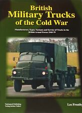 BRITISH MILITARY TRUCKS OF THE COLD WAR Army Transport NEW HB Vehicle Type Model