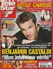 Télé Star N°1582 - 22/01/2007 - B. CASTALDI - MARIE GILAIN - SYLVESTER STALLONE