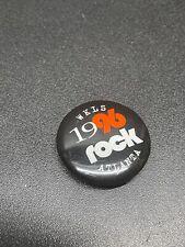 "WKLS 96 1996 Atlanta 96 Rock 1"" pin button"