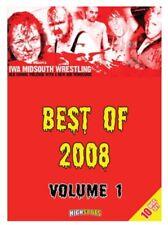 IWA MID-SOUTH 10 DISC SET - BEST OF 2008 VOLUME 1 DVD Wrestling NWA NXT WWE WCW